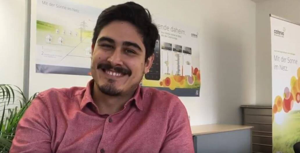 David Paez, Annual Internship Student at Caterva Munich 2016